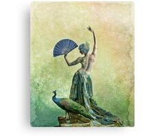 Peacock Dance Canvas Print