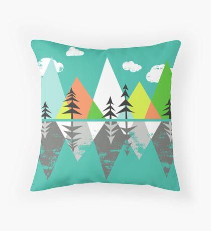 the Crystal Lake Throw Pillow
