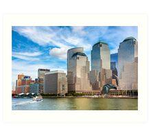 World Financial Center - Manhattan Waterfront Art Print