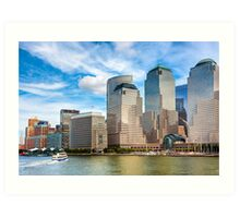 World Financial Center - Manhattan Waterfront Art Print