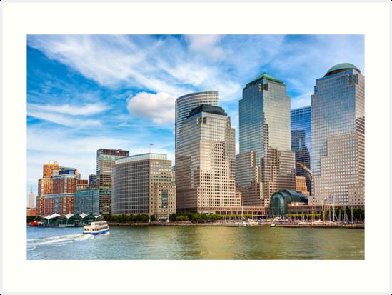 World Financial Center - Manhattan Waterfront by Mark Tisdale