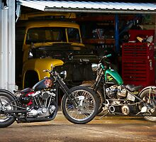 Tim and Neil's Custom Harley Bobbers by HoskingInd