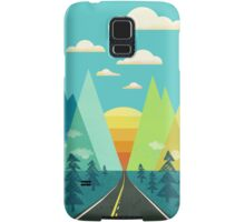 the Long Road Samsung Galaxy Case/Skin