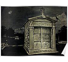 The Crypt, Greenwood Cemetery, Atlanta, Ga. Poster