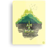 I am a rock Metal Print