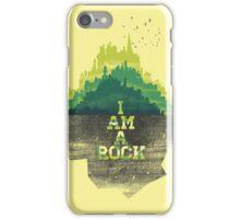 I am a rock iPhone Case/Skin