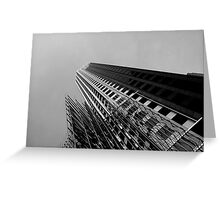 Architecture Abstractism Greeting Card