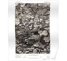 USGS Topo Map Washington State WA Pullman 243318 1975 24000 Poster
