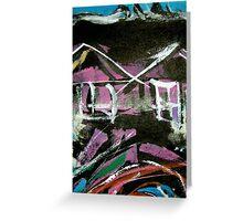 urban sites...... habitat #14 Greeting Card