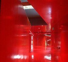 Red level, Seattle Public Library, Central Branch by Julie Van Tosh Photography