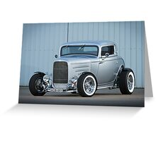 Scott's 1932 Ford Coupe Hot Rod Greeting Card