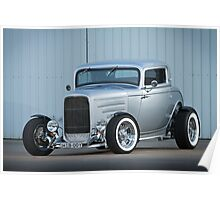 Scott's 1932 Ford Coupe Hot Rod Poster