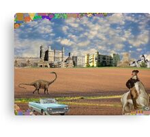 My Time Machine is All Out of Whack  Canvas Print