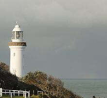 Light House at Norah Head by Sherilyn Hawley