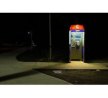 The Last Pay Phone Photographic Print