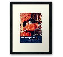 Monkeyfunk - Movie Poster Framed Print