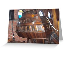 Shipshape pulpit Greeting Card