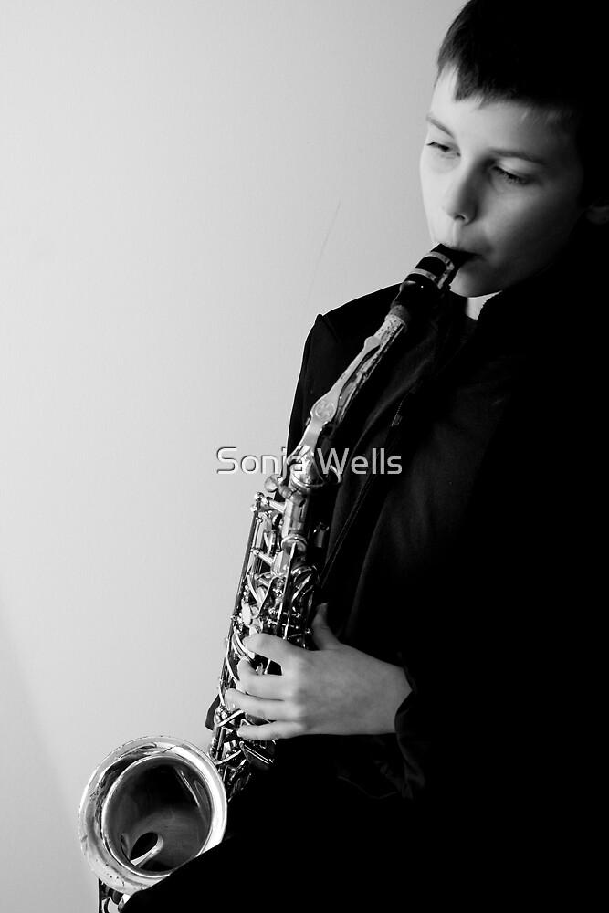 Junior Musician I by Sonja Wells