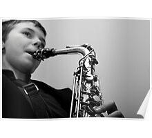 Junior Musician III Poster