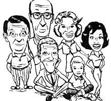 Vintage Dick Van Dyke Show by OfficialVandy
