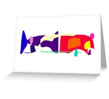 Killer Whale Notwithstanding Human Beings and Logic Greeting Card