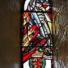 Stained glass window of William Wallace in Edinburgh Castle by ashishagarwal74