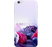 who is kim seokjin? iPhone Case/Skin