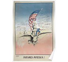 Forward America! Poster