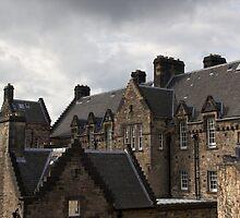 Upper part of Edinburgh Castle  by ashishagarwal74