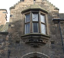 Structure of upper part of gate of Edinburgh Castle by ashishagarwal74