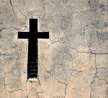 Cross, Recoleta Cemetery, Argentina by strangelight