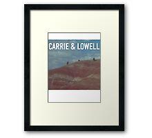 Sufjan Stevnes Carrie and Lowell promo Framed Print