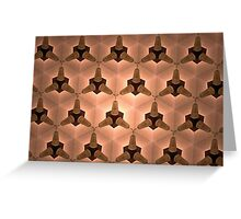 Prismatic Texture 79 Greeting Card