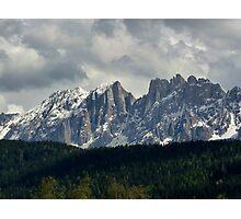 Glorious Dolomites - Tyrol, Italy Photographic Print