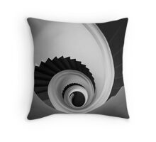 Graal Staircase Throw Pillow