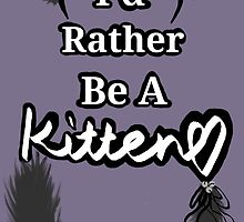 I'd Rather Be A Kitten..Punk Style by crimsonflower13