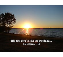 """Habakkuk 3:4""  by Carter L. Shepard Photographic Print"