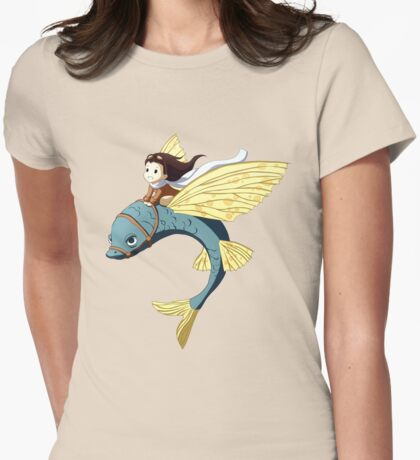 Flying Fish Womens Fitted T-Shirt