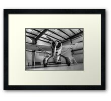 Canadian Lysander - Monotone Framed Print