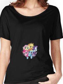 Mane Six (Small) Women's Relaxed Fit T-Shirt