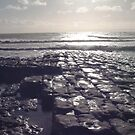 Beach at Llantwit Major by Amanda Clegg