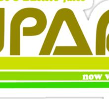 Tupari Logo Green Sticker