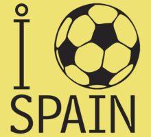 I LOVE SPAIN T-shirt Kids Clothes