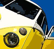 VW Splitscreen by Joe Stallard