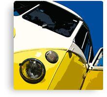 VW Splitscreen Canvas Print