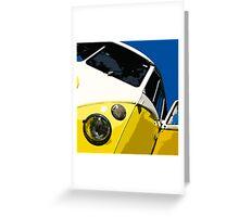 VW Splitscreen Greeting Card