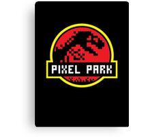 Pixel Park Canvas Print