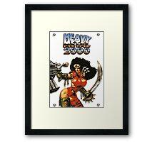 Heavy Metal 2000 Framed Print