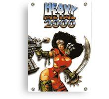 Heavy Metal 2000 Canvas Print