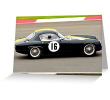 Lotus Elite No 16 Greeting Card